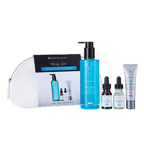 Exclusive Trial Skincare Set for Oily & Combination Skin – Worth £185*